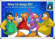 GeoPalz reward postcard