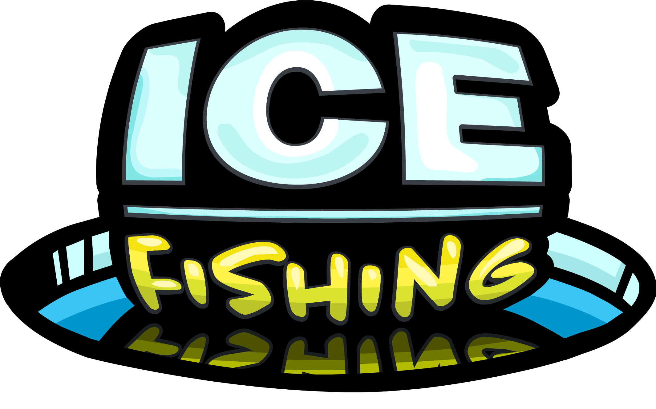 Image result for ice fishing sign