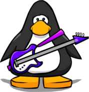 Purple Electric Bass445566