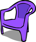 Purple Plastic Chair sprite 002