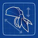 Bandana de Pirata Modelo ICP