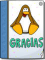 Card from Dancing Penguin full award front es