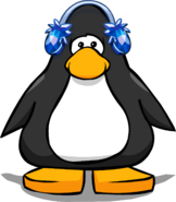 Crystal Puffle Earmuffs Player Card