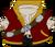 Disfraz de Pirata Dorado icono