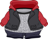 Fall Leather Jacket clothing icon ID 24208
