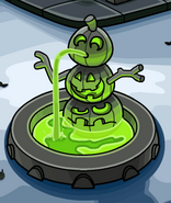 GreenPumpkin Fountain13