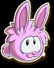 Pink rabbit selected