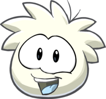 Puffle 2014 Transformation Player Card White