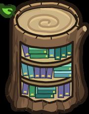 Biblioteca de Tocón de Árbol icono