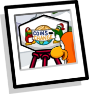 Coins For Change Background 2009 version