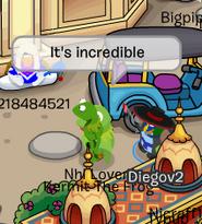 Encuentro con Kermit en Cloudy 5