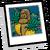 Fondo Tribalístico con Frutos icono