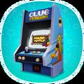 Marketing screen arcade