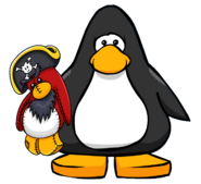 Piratey Stuffie from a Player Card