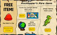 Rockhopper's Rare Items December 2008