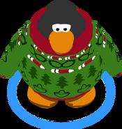 Aunt Arctic Sweater in-game