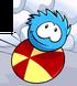 BLUE PUFFLE card image