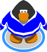 Blue Hockey Jersey ingame
