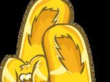 Pantuflas de Conejo de Oro
