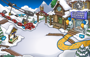 Waddle On Party Ski Village