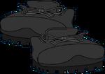 Botas de Excurción Negras icono
