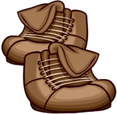 Brown Leather Boots clothing icon ID 6159