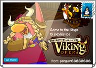 Haunting of the Viking Opera Poscard