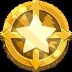 Medalla de Nivel Calcomanía Comunidad