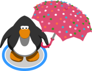 Polka Dot Umbrella ingame