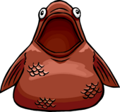 Wise Fish Costume Icon 4112
