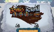 Bonus round beginning