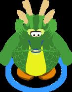 Dragón Ancestral Verde sprits