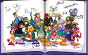 Firmas y personajes