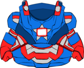 Iron Patriot Armor clothing icon ID 4828
