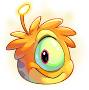 Orange Alien Puffle