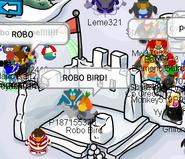 Robo Bird encontrado