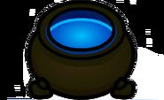 Caldero azul