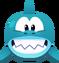 Emoji Grinning Shark
