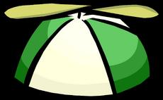 Gorra con Hélice Verde icono