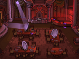 Puffle Hotel Dining Room