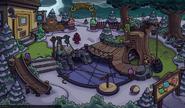 Parque para Puffles Noche de Brujas 2014