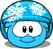 Snowflake Helmet in Puffle Interface