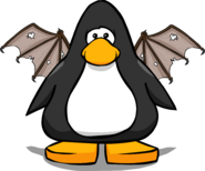 Brown Bat Wings from a Player Card