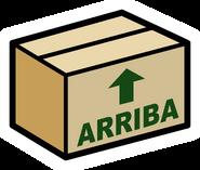 Cardboard Box pin icon es