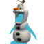 Festive Olaf Costume icon
