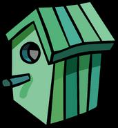 Green Birdhouse sprite 003