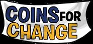 Logo Coins for Change 2007 sin moneda