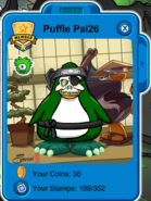 Puffle Pal26 Costume 2013