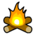 Bonfire Pin