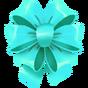 Calcomanía Lazo Turquesa icono